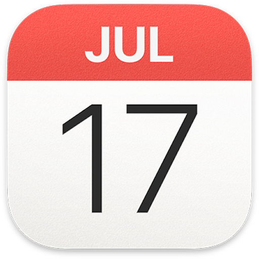 Apple Calendar Logo